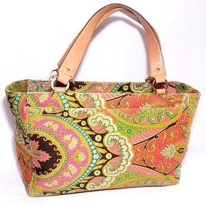 Kate Spade Paisley Satchel Handbag